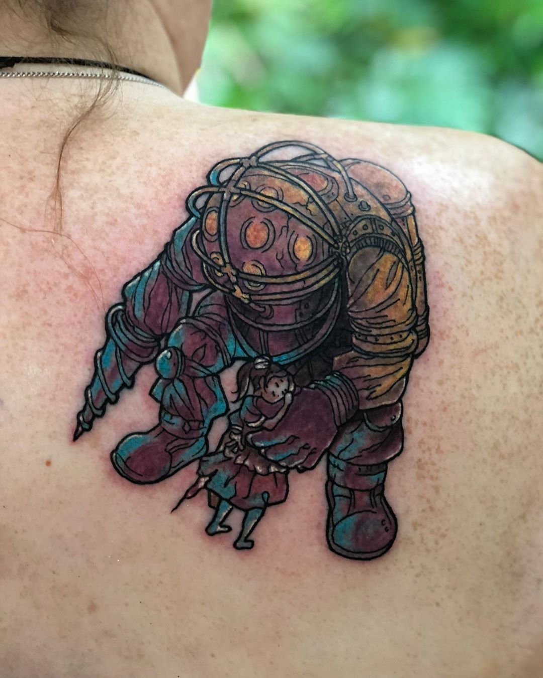 bioshock tattoos chains