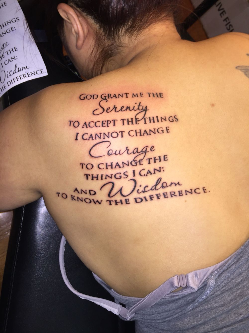 Small Simple Blessing Tattoo Designs (106)