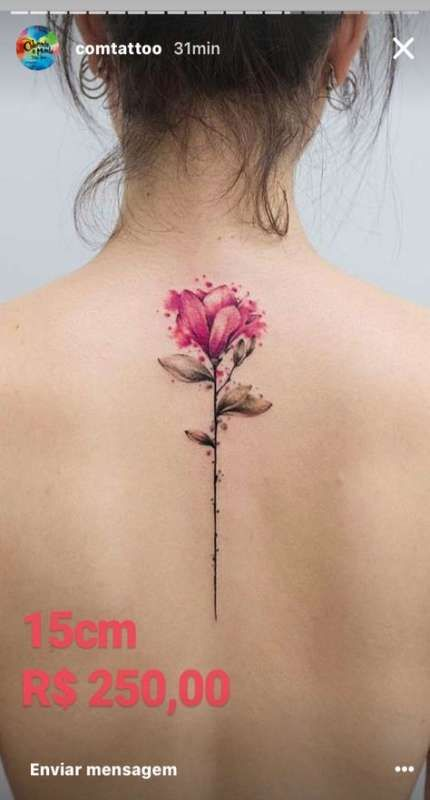 Small Simple Blessing Tattoo Designs (120)
