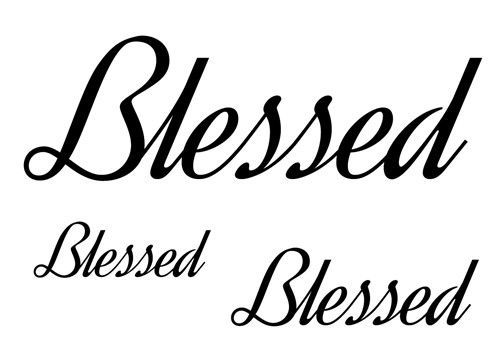 Small Simple Blessing Tattoo Designs (135)