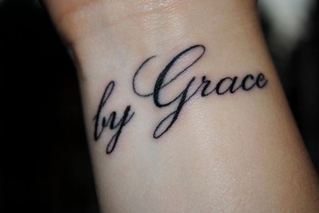 Small Simple Blessing Tattoo Designs (145)