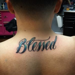 Small Simple Blessing Tattoo Designs (49)
