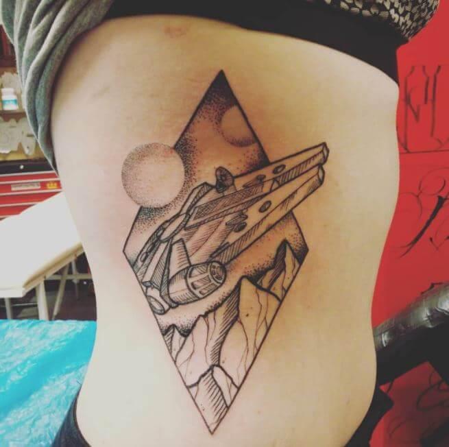 Star Wars Tattoos For Girls