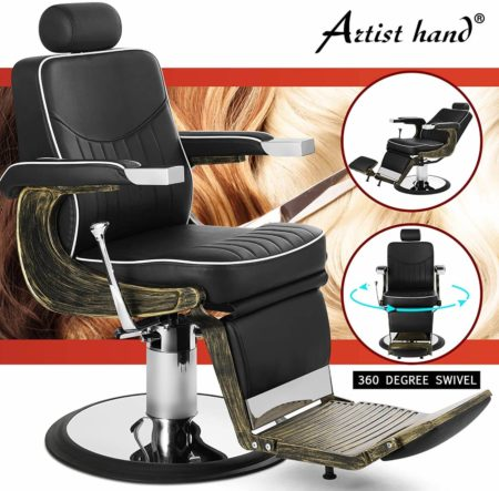 Artist Hand Vintage Barber Chairs