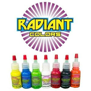 Tattoo Ink Radiant Colors 7 Color By Radiant Colors