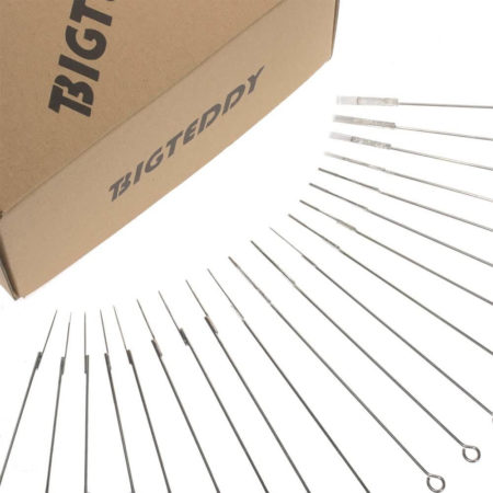 BIGTEDDY 200pcs Assorted Disposable Sterile Tattoo Needles