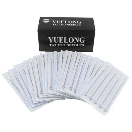 Yuelong 100 Pieces Disposable Mixed Tattoo Guns Needles