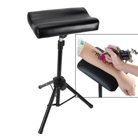 Foldable Adjustable Height Tattoo Tripod Stand Foam Pad Arm Leg Rest 70 100cm Armrest Heavy Duty Tool