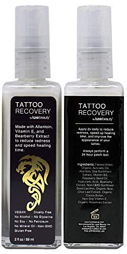 Luxe Beauty Tattoo Recovery And Brightening Cream