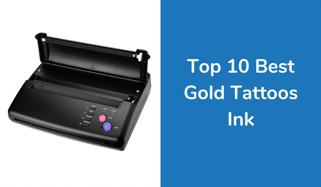 Top 10 Best Gold Tattoos Ink