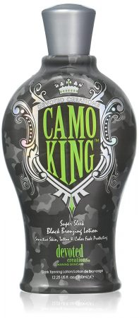 Devoted Creations CAMO KING Black Bronzing Lotion 12.25 Oz