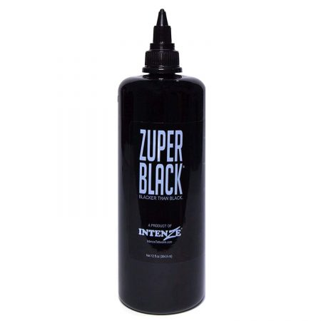 Intenze Tattoo Ink Zuper Black Review