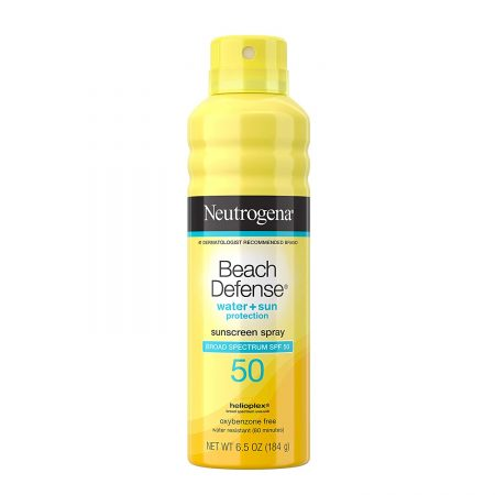 Neutrogena Beach Defense Sunscreen Spray SPF 50 Water Resistant
