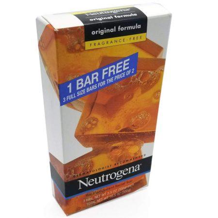 Neutrogena Transparent Soap Bar 3 Pack Fragrance