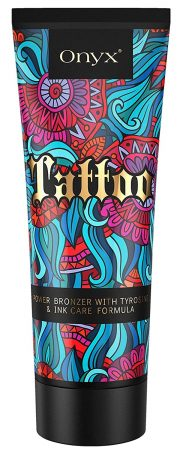 Onyx Tattoo Bronzing Intensifier Dark Tanning Effect Ink Care Formula