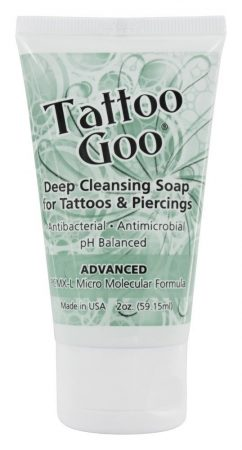 Tattoo Goo Deep Cleansing Soap For Tattoos & Body Piercings