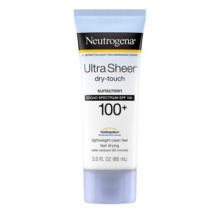 Loção de proteção solar Neutrogena Ultra Sheer Dry Touch