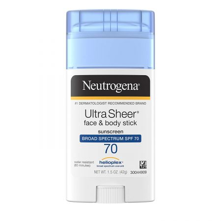 Neutrogena Ultra Sheer Non Greasy Sunscreen Stick para o rosto
