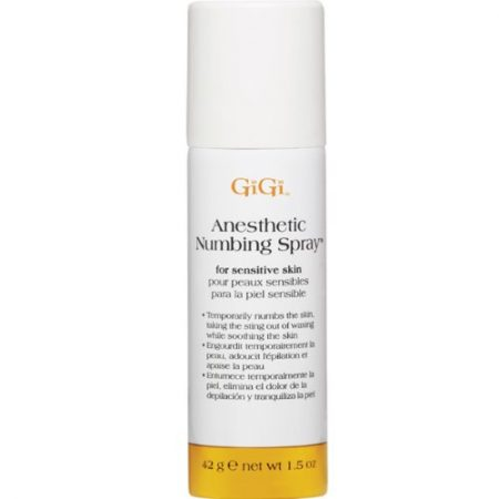 Gigi Anesthetic Numbing Spray, 1.5 Ounce , Pack Of 2