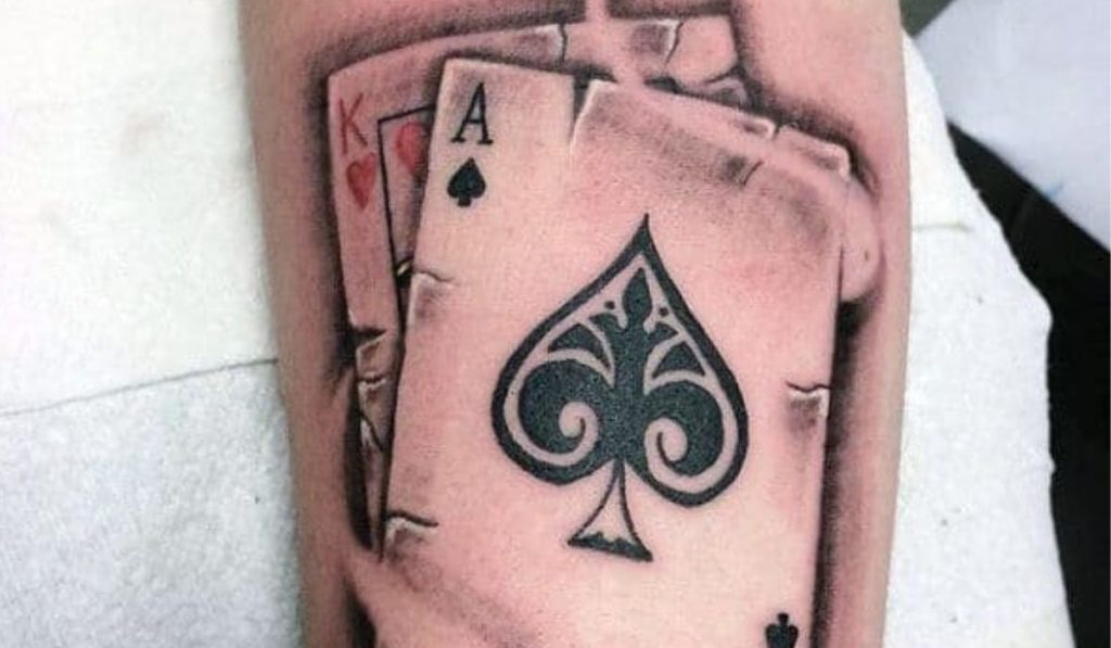 Playing Cards' Elements Tattoo