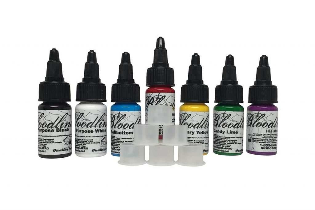 Skin Candy Bloodline Tattoo Ink Review
