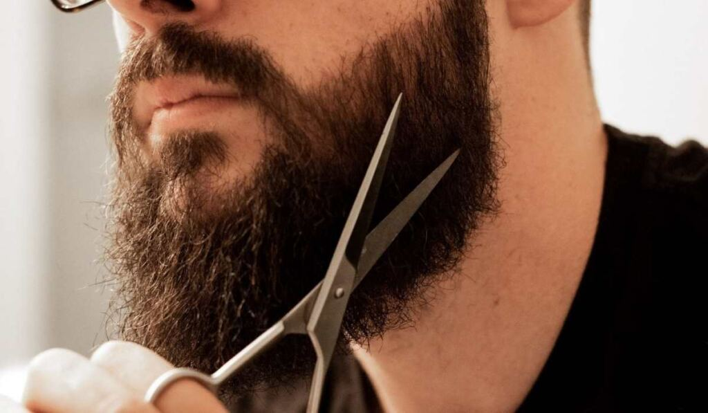 Trim Your Beard With Scissors