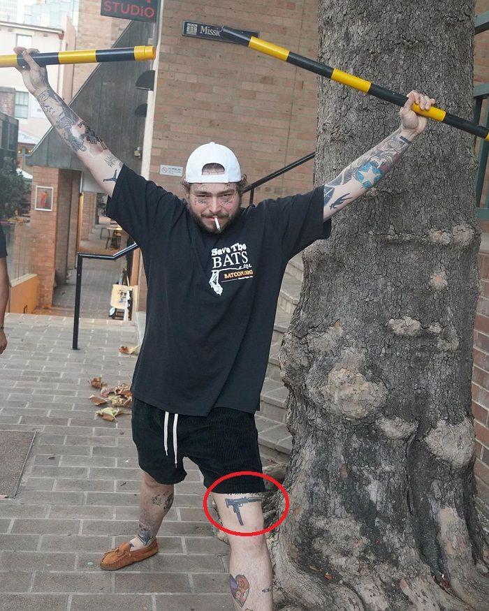 43 Gun Tattoo