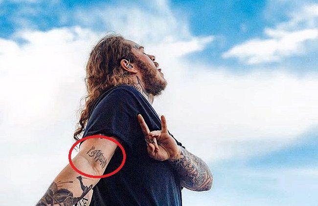 60 Post Malone Patient Tattoo
