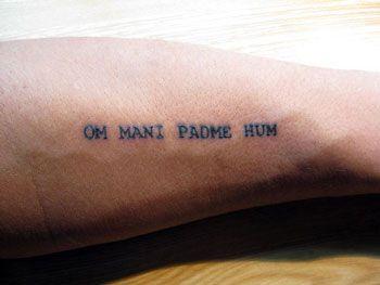Om Mani Padme Hum Hindi