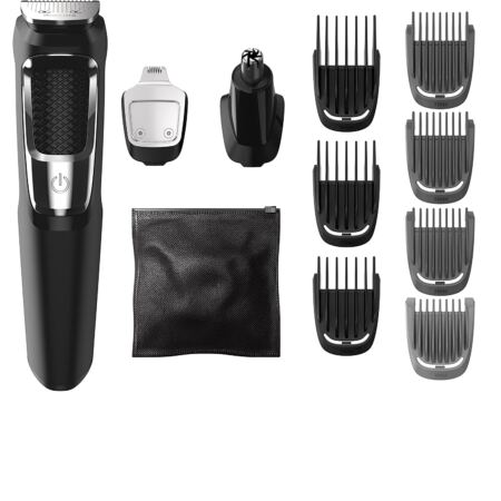 Philips Norelco MG3750 Multigroom All In One Series 3000, 13 Attachment Trimmer