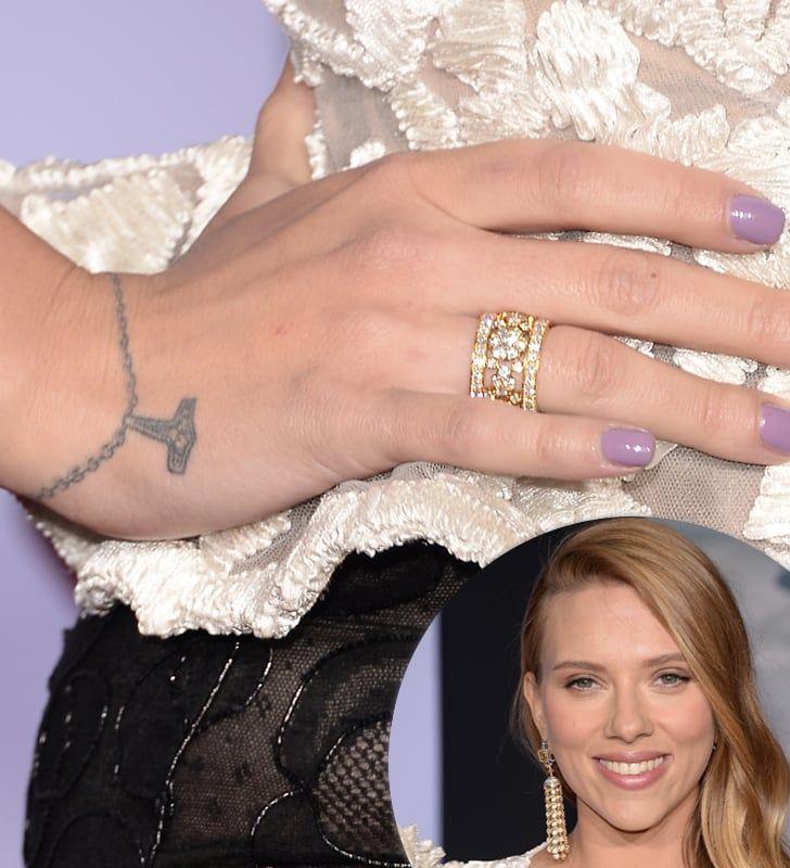 Scarlett Johansson Bracelet Tattoo