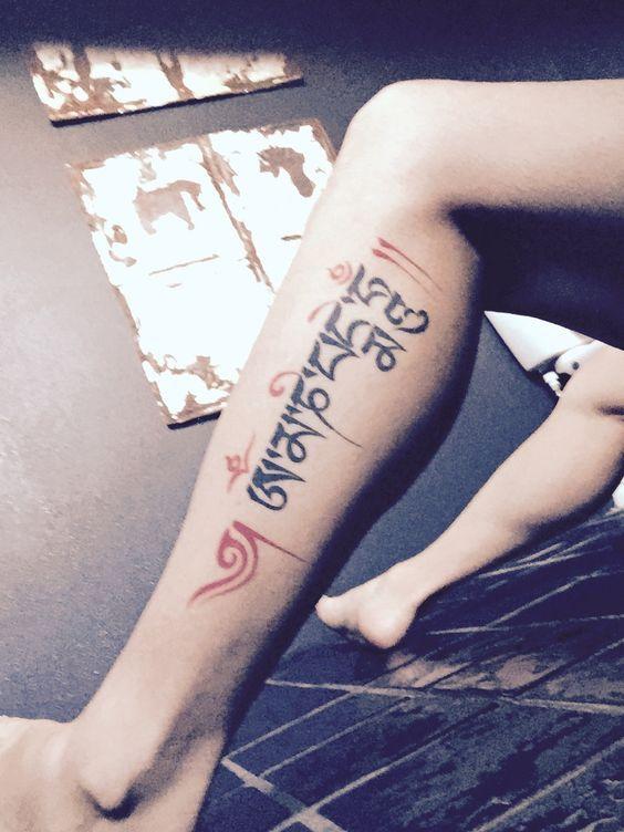 Tattoo Om Mani Padme Hum 2