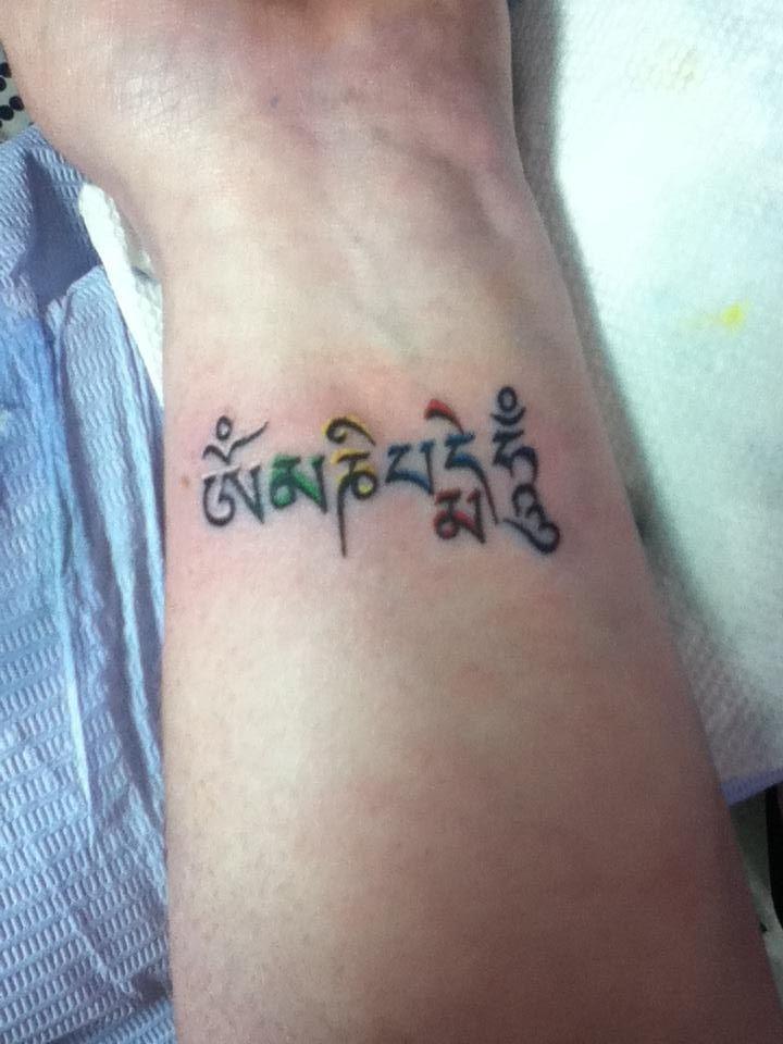 Tattoo Om Mani Padme Hum 3