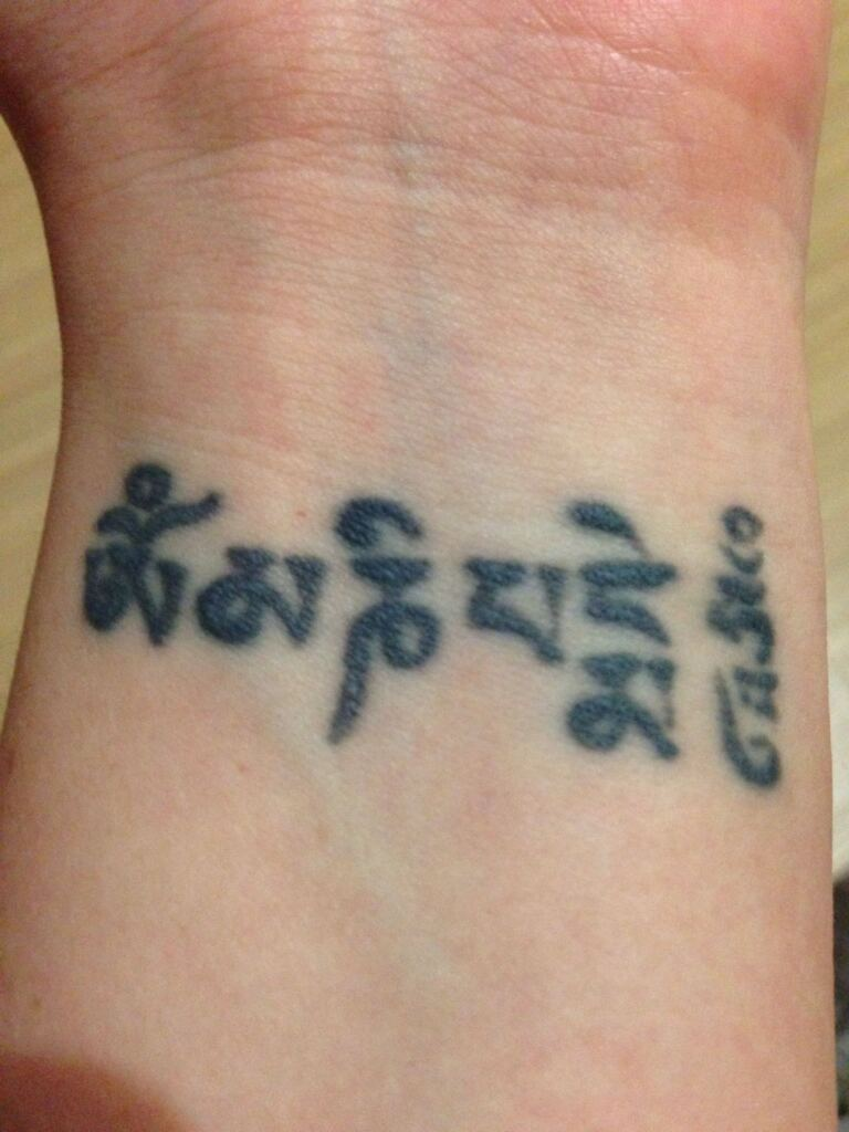 Tattoo Ideas Om Mani Padme Hum 14
