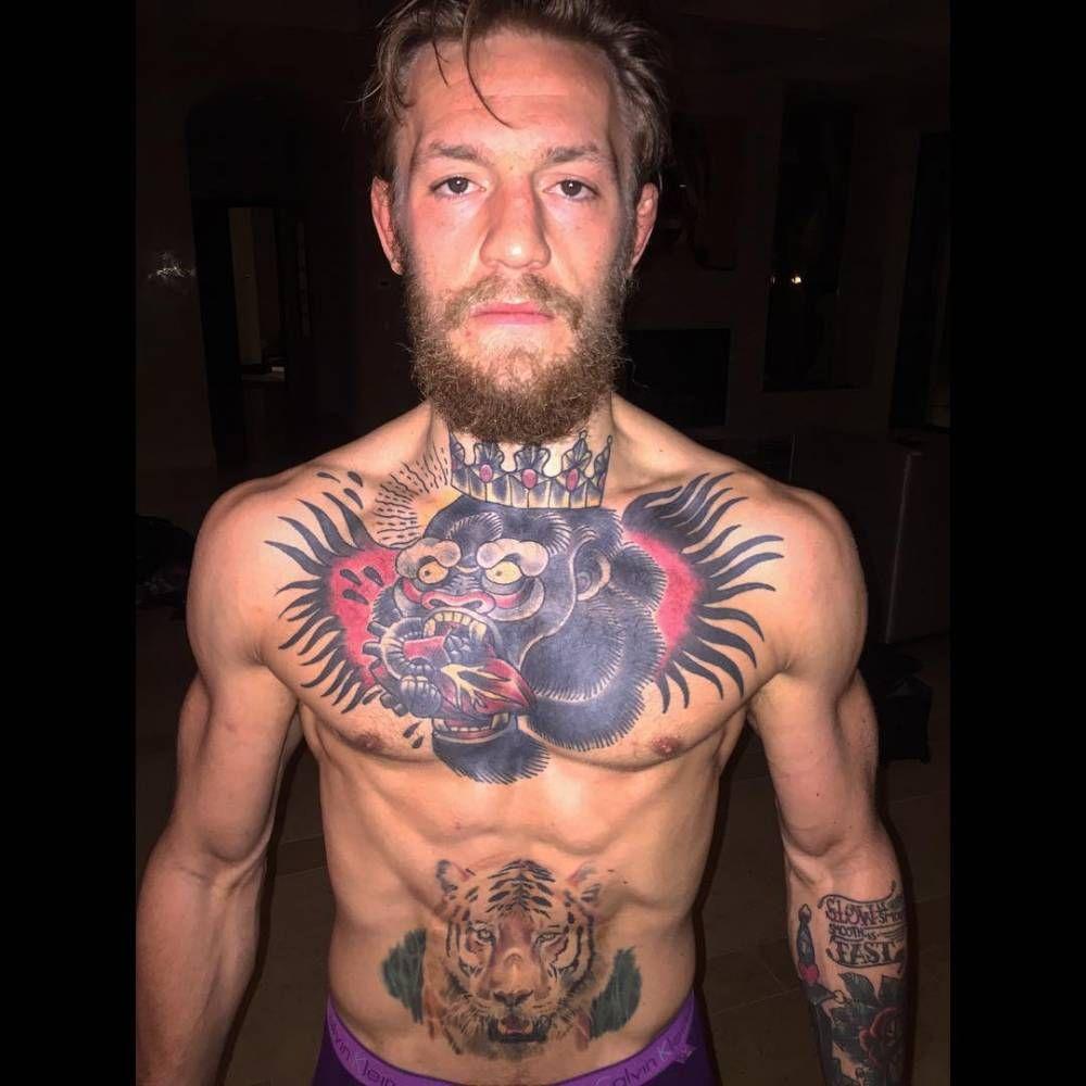 Conor Mcgregor Gorilla Tattoo
