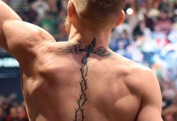 Conor Mcgregor Back Tattoo