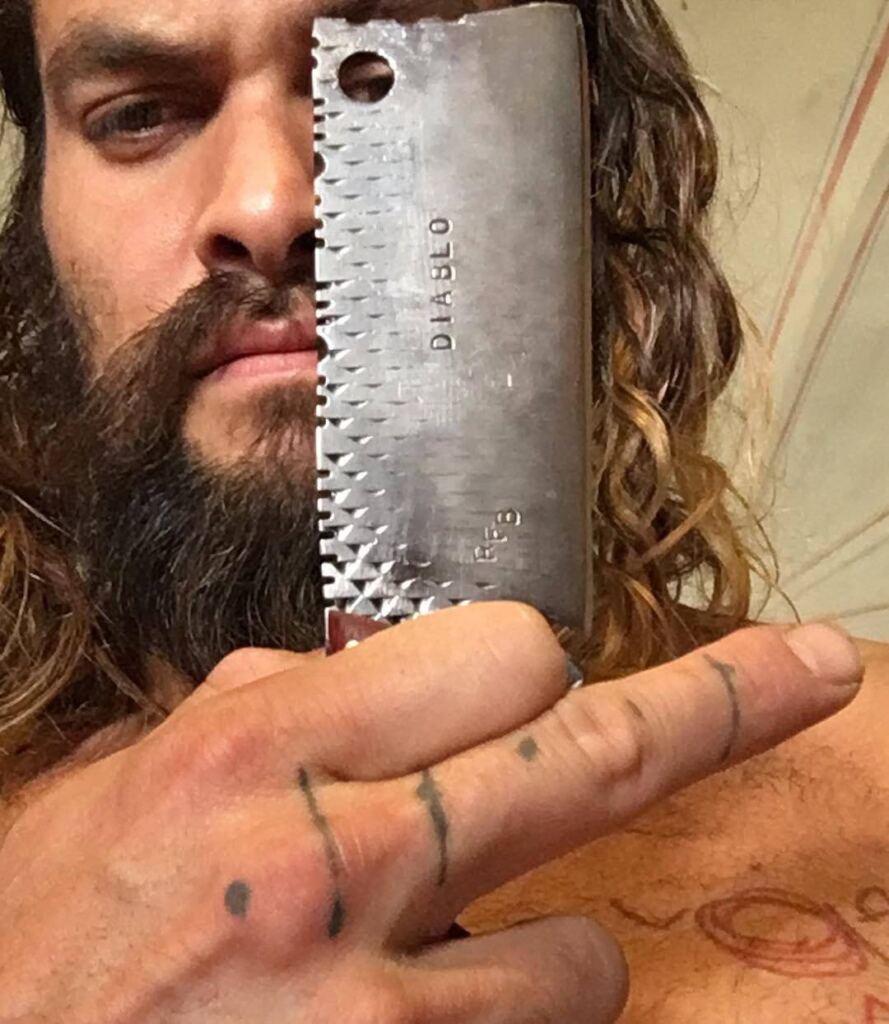 Jason Momoa Tattoos Diablo