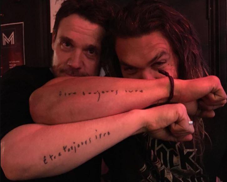 Jason Momoa Tattoos On Forearm