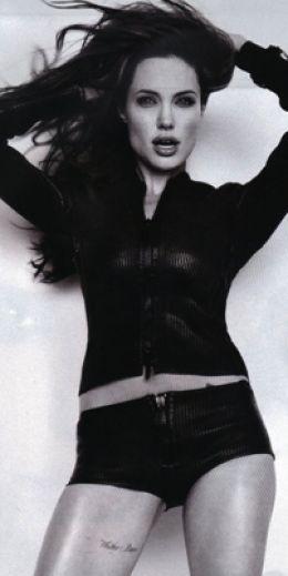 Whiskey Bravo Angelina Jolie Tattoo