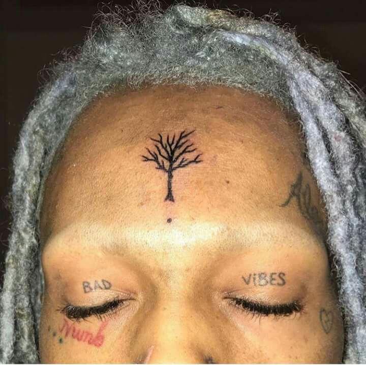 XXXTentacion Bad Vibes Tattoo