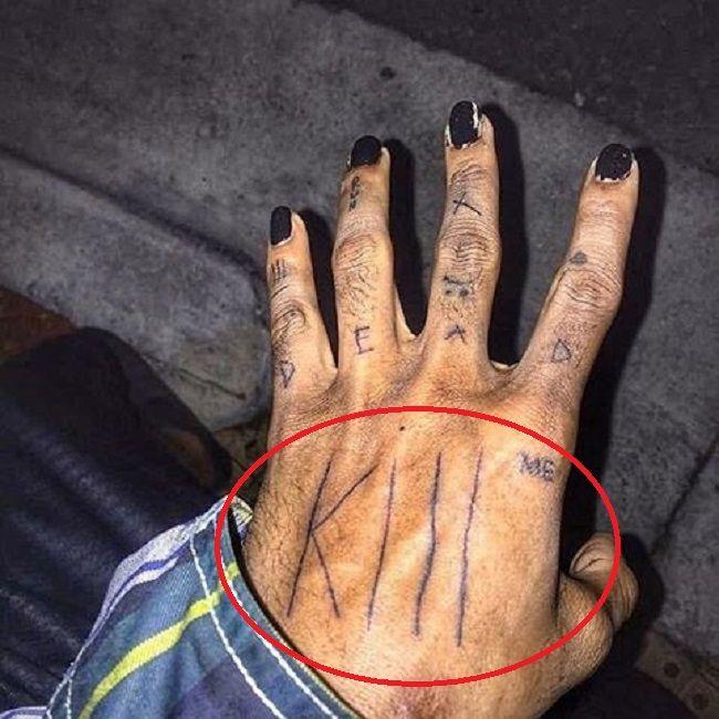 XXXTentacion Kill Me Tattoo