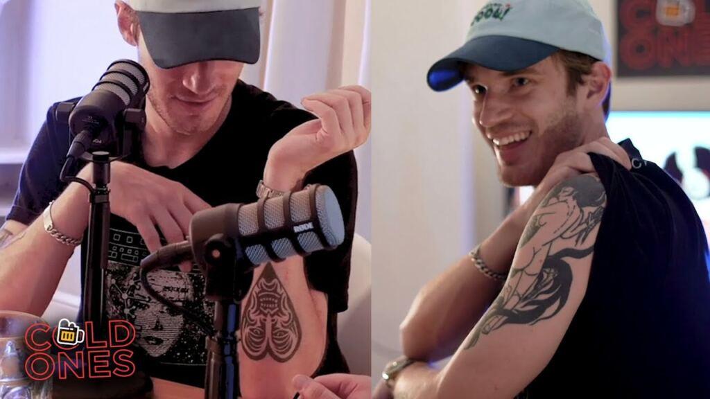 Pewdiepie Skeleton Tattoo Idea