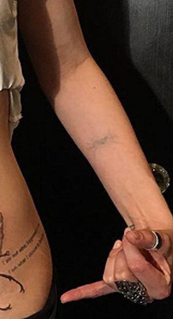 Jaimie Alexander Quote Tattoo