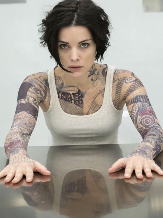 Jaimie Alexander Tattoos