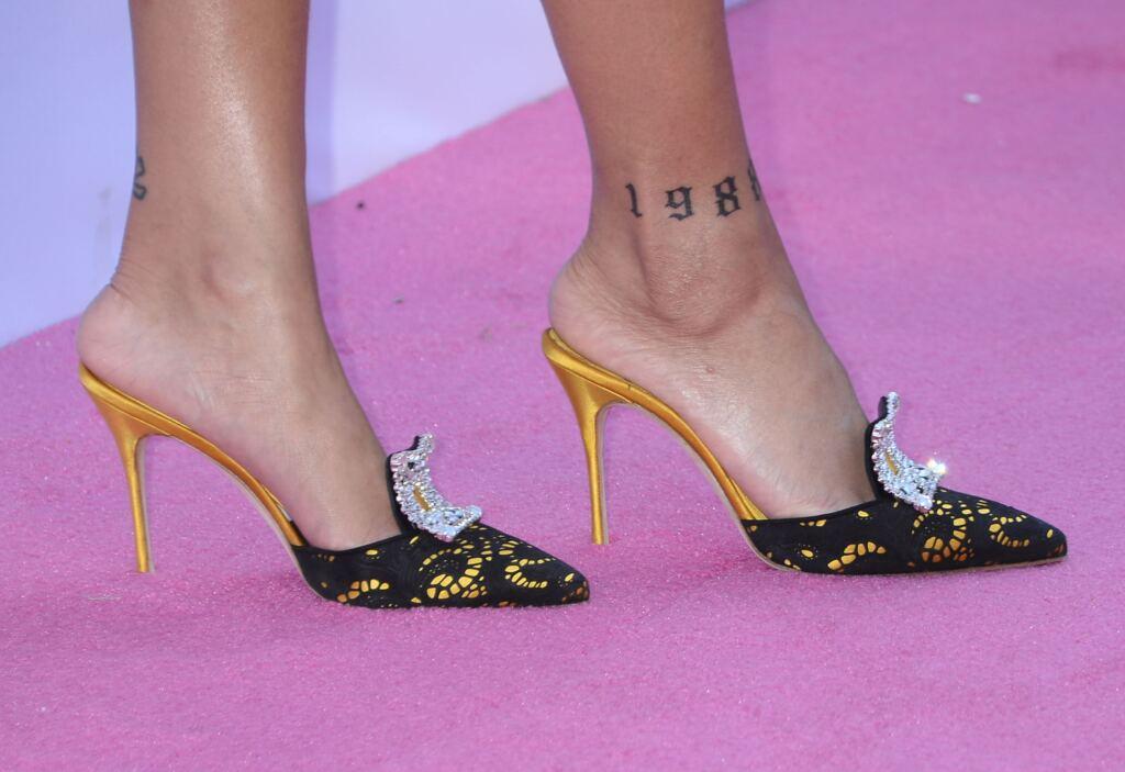 Rihanna Tattoos 1988