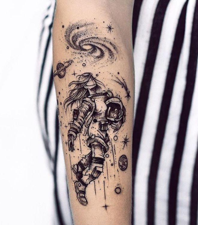 Space Tattoo Ideas 1