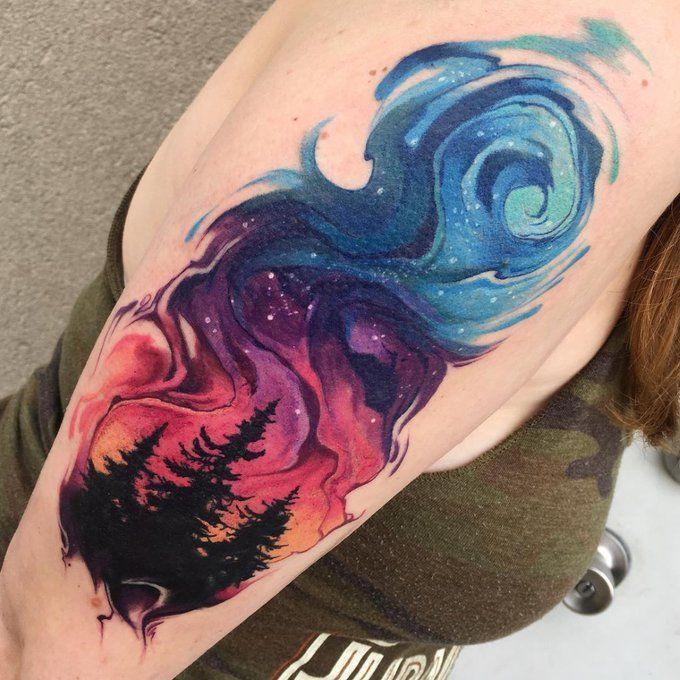 Space Tattoo Ideas 102
