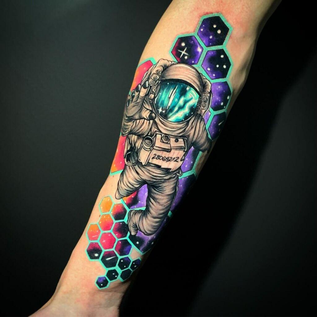 Space Tattoo Ideas 112