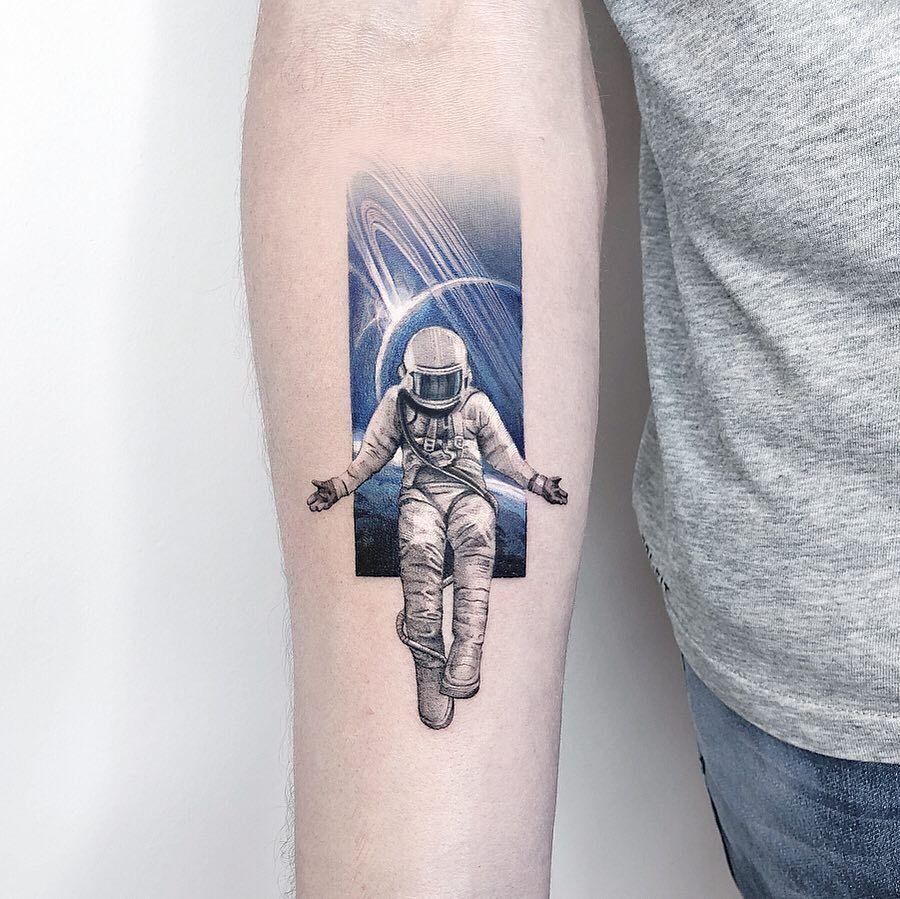 Space Tattoo Ideas 14