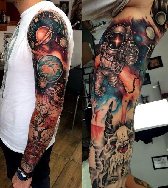 Space Tattoo Ideas 23